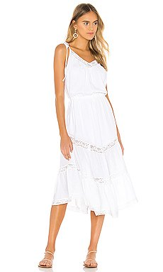 Rachel 70s Peasant Dress                     Indah