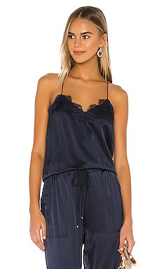 The Racer Charmeuse Cami                     CAMI NYC