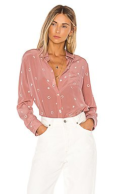 Kate Silk Blouse                     Rails