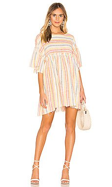 Summer Nights Striped Dress                     Free People