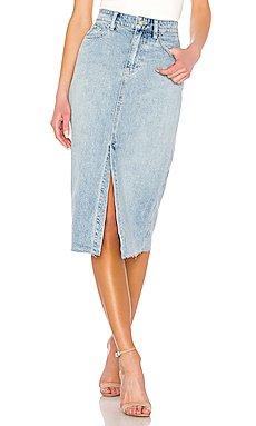 Wilshire Denim Skirt                     Free People