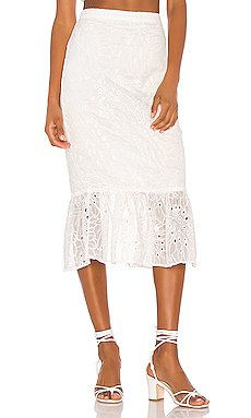 Tala Midi Skirt                     Song of Style