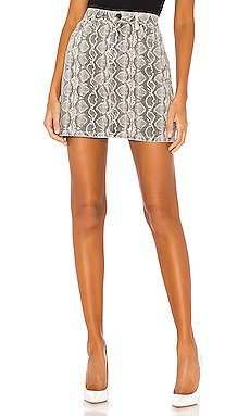 A-Line High Rise Skirt                     BLANKNYC