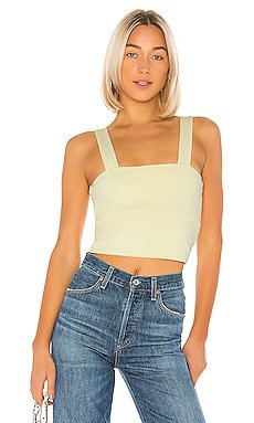 Wide Band Crop Top                     David Lerner