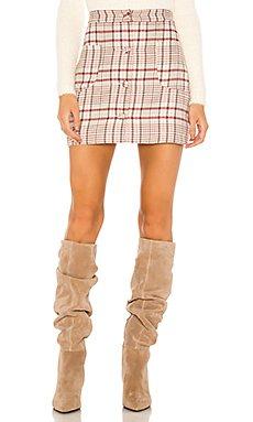 Astrid Mini Skirt                     Song of Style