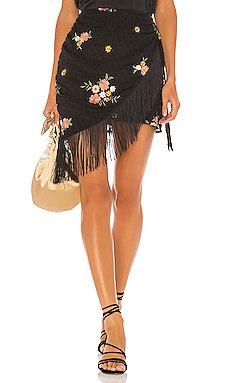 Hallie Mini Skirt                     MAJORELLE