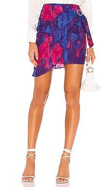 Hoover Mini Skirt                     MAJORELLE