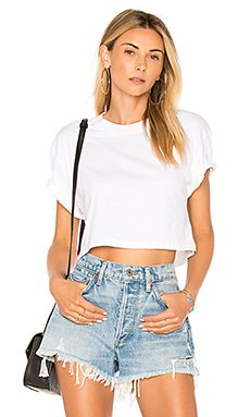 The Crop Tee                     x karla