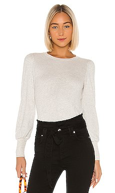 Gia Honeycomb Knit Pullover                     Velvet by Graham & Spencer