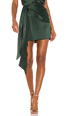 Mini Skirt With Sash                     Michelle Mason
