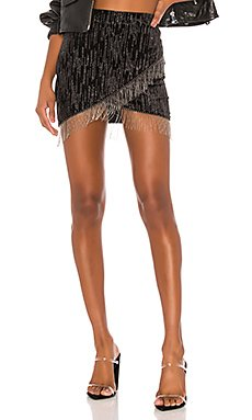 Drip Mini Skirt                     h:ours