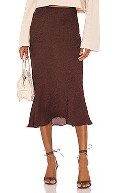 The Jeune Midi Skirt                     L\'Academie