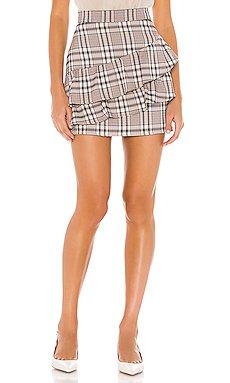 Quinn Ruffle Skirt                     Line & Dot