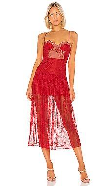 Desert Rose Midi Dress                     NBD