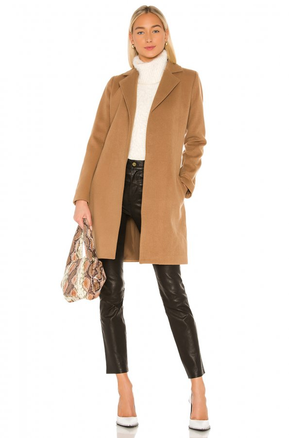 Jack By BB Dakota Keep Your Secrets Wrap Coat