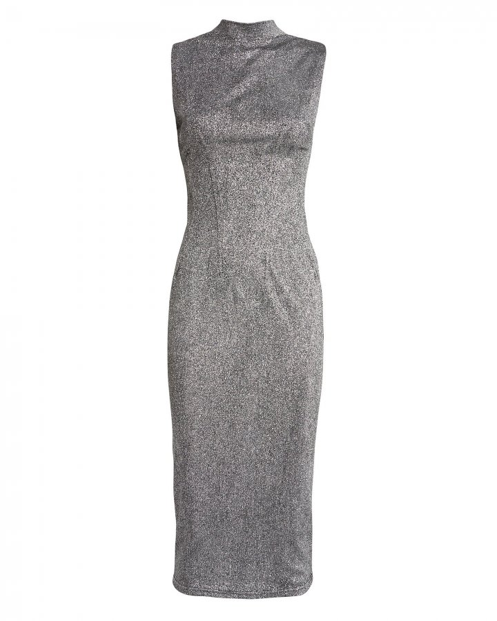 Bandit Silver Shimmer Dress