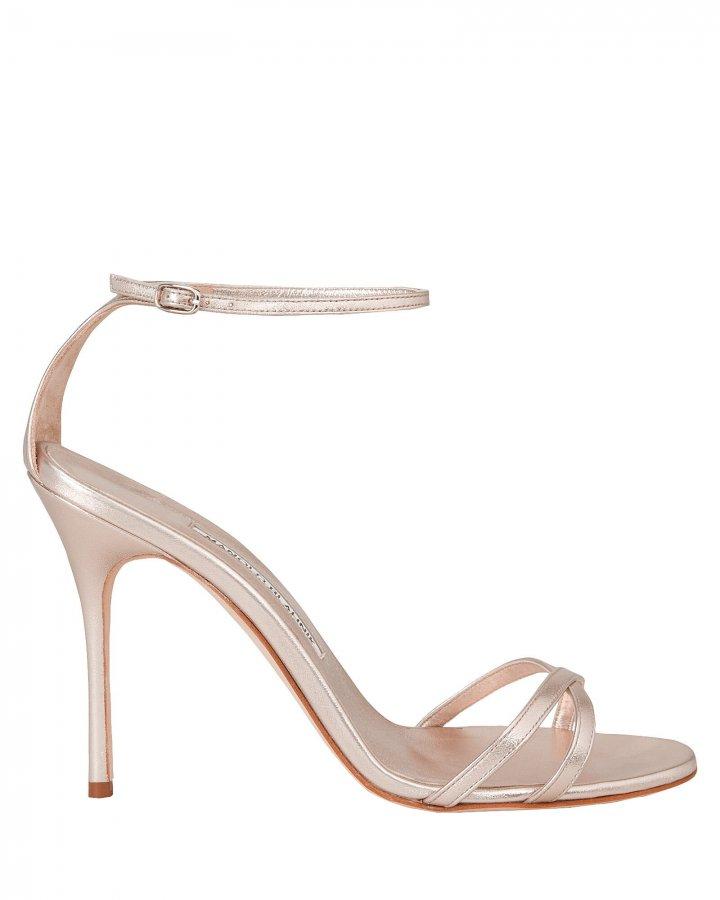 Paloma Leather Stiletto Sandals