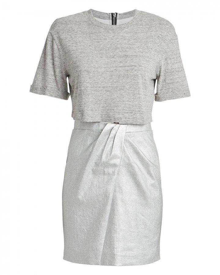 Naomi Layered T-Shirt Dress