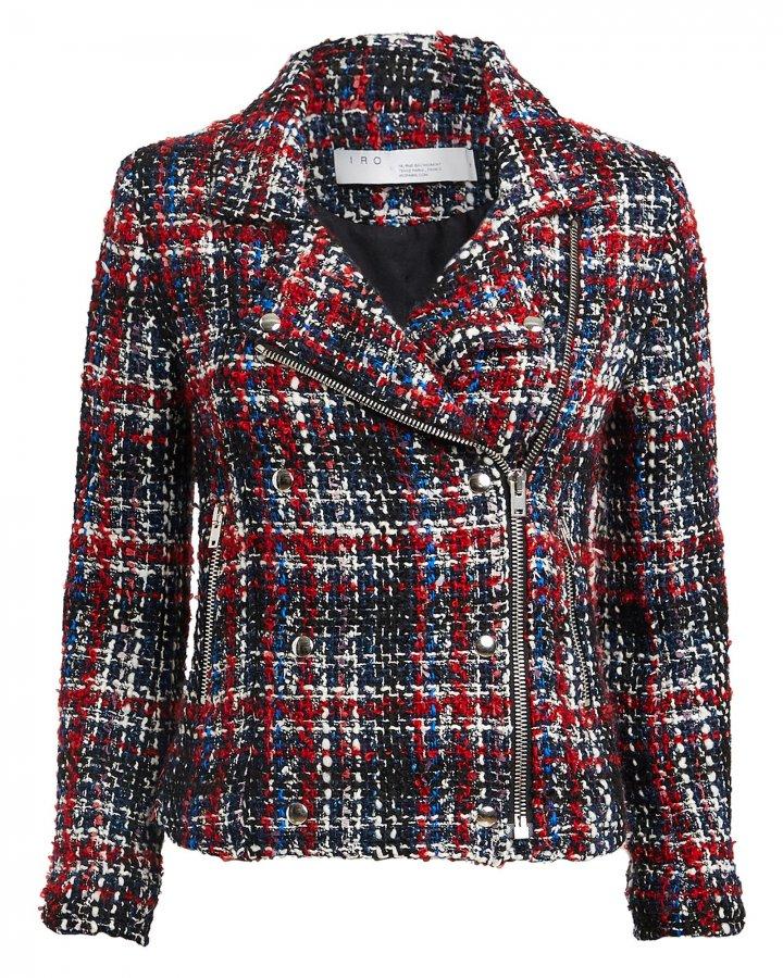 Sloane Tweed Moto Jacket