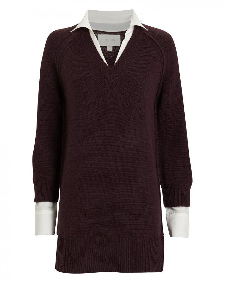 Looker Wool-Cashmere Sweater Dress
