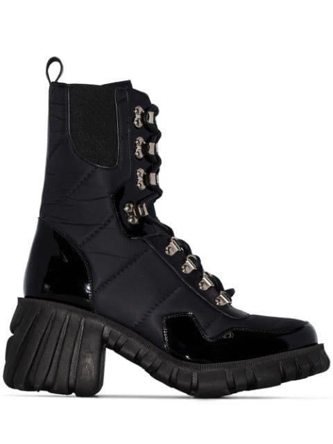 Marques\'Almeida Chunky 70mm Heeled Hiking Boots - Farfetch