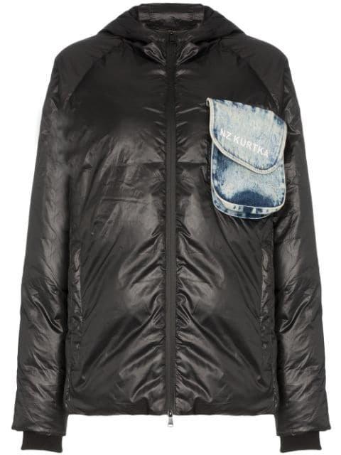 Natasha Zinko beach-trash Print Puffer Jacket - Farfetch