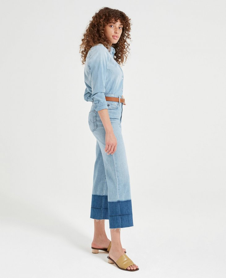 The Etta in Blue Oasis   AG Jeans Official Store
