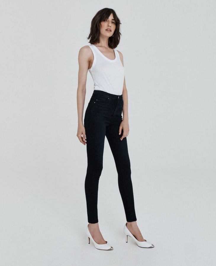 The Mila in Blue Above   AG Jeans Official Store