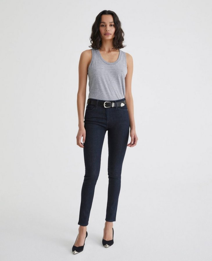 The Farrah Skinny in Indigo Winter   AG Jeans Official Store