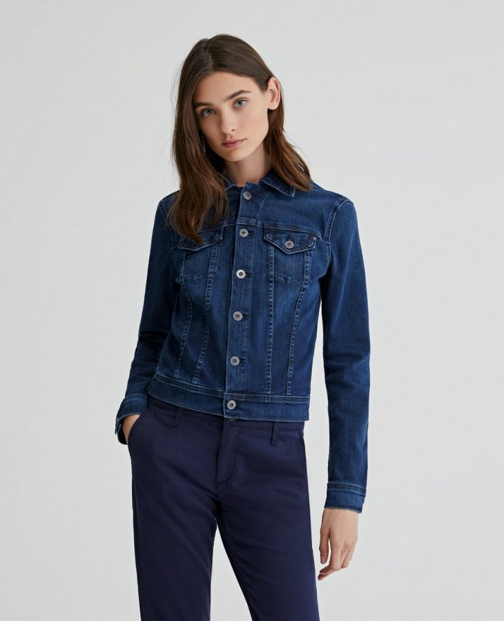 The Robyn Jacket in Pinnacle Blue   AG Jeans Official Store