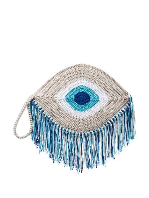 My Beachy Side Eye Woven Clutch Bag - Farfetch