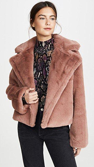 Big Time Plush Faux Fur Jacket