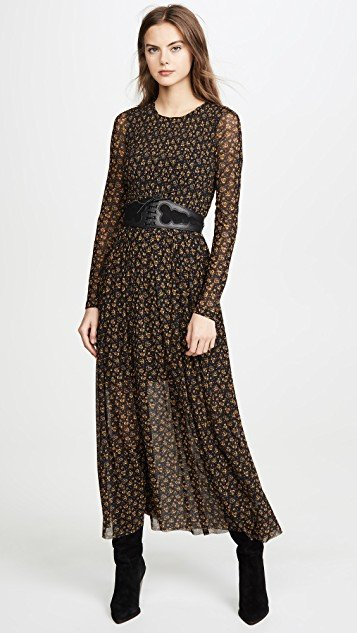 Hello And Goodybye Midi Dress