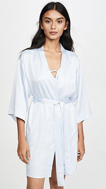 Victoria Charmeuse Robe