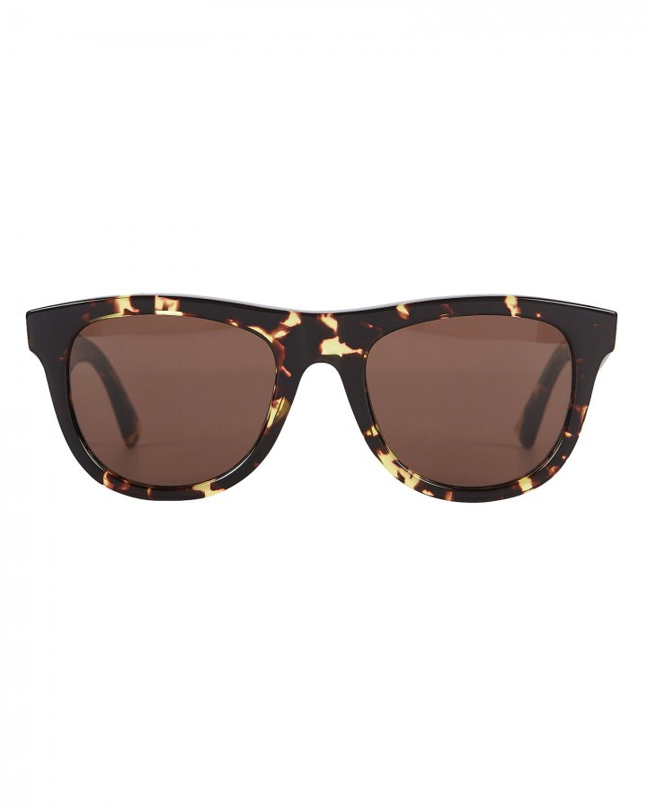 Spotted Havana Wayfarer Sunglasses