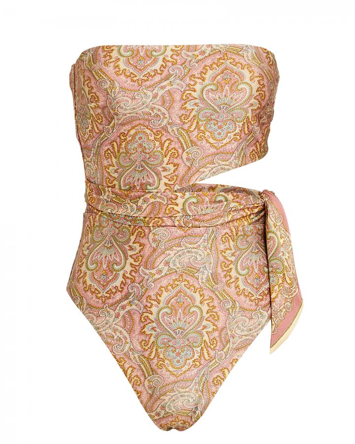 Freja Paisley One-Piece Swimsuit