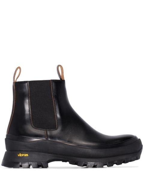 Jil Sander Chunky Ankle Boots - Farfetch