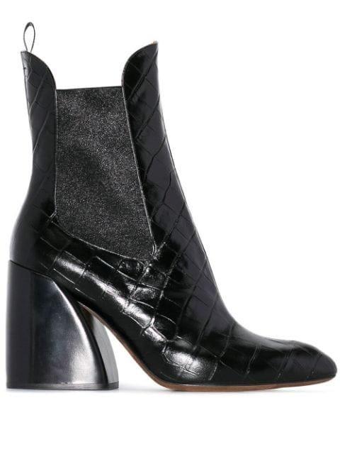 Chloé Wave 90 Chelsea Boots - Farfetch