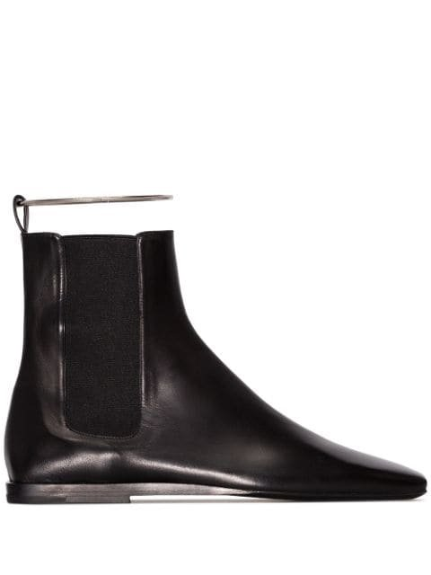 Jil Sander Leather Chelsea Boots - Farfetch