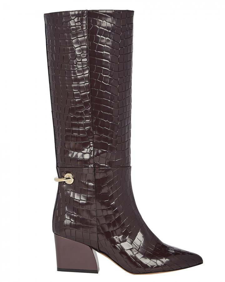 Rowan Calf-High Leather Boots