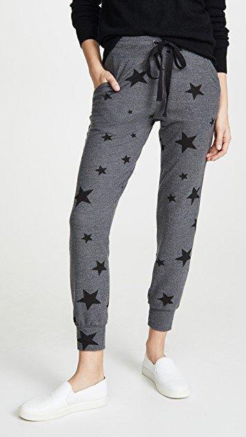 Star Print Joggers