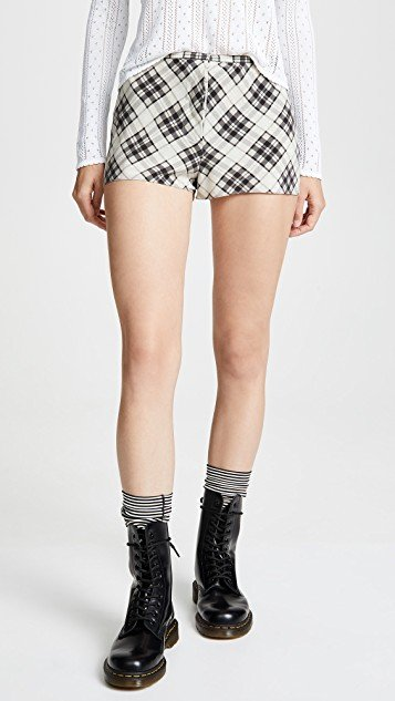 Redux Grunge Plaid Shorts