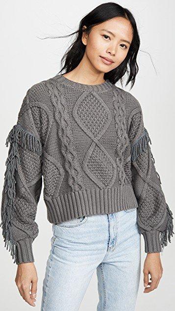 Jasper Fringe Sweater