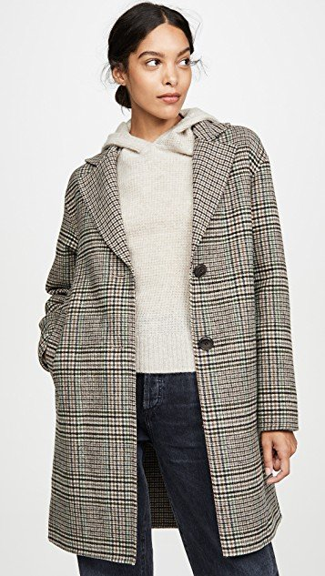 Maryline Check Jacket