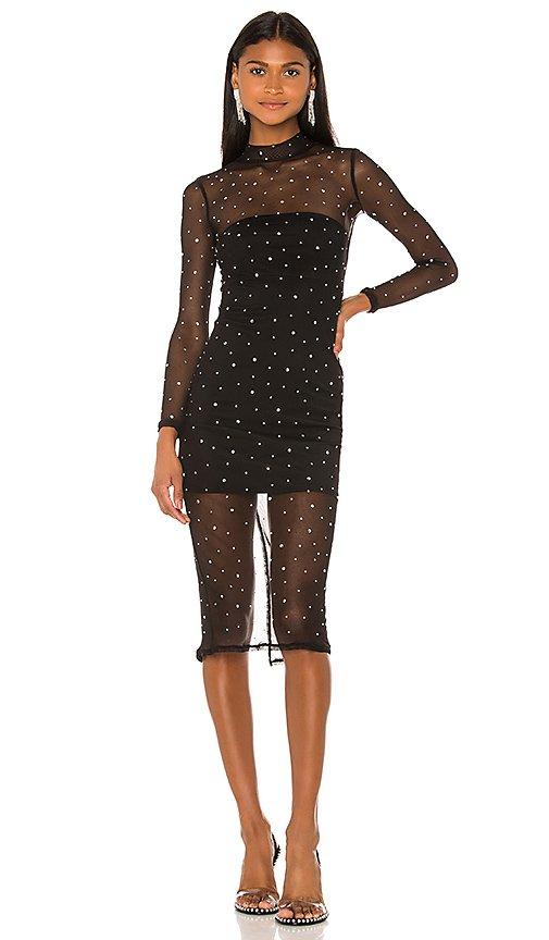 Brittany Embellished Midi Dress