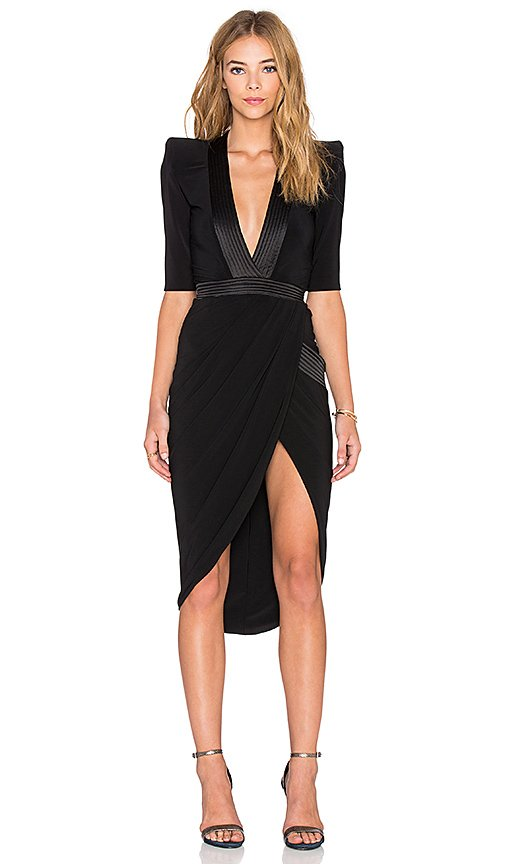 Eye of Horus Midi Dress