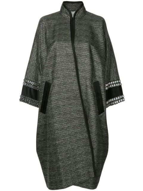 Layeur Metallic Single Breasted Coat - Farfetch
