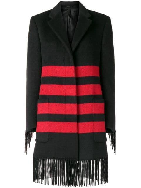Calvin Klein 205W39nyc Fringe Coat - Farfetch