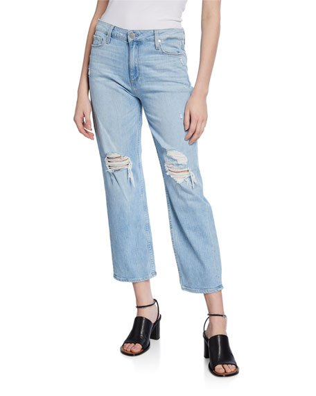 Noella Straight Caballo Distressed Jeans