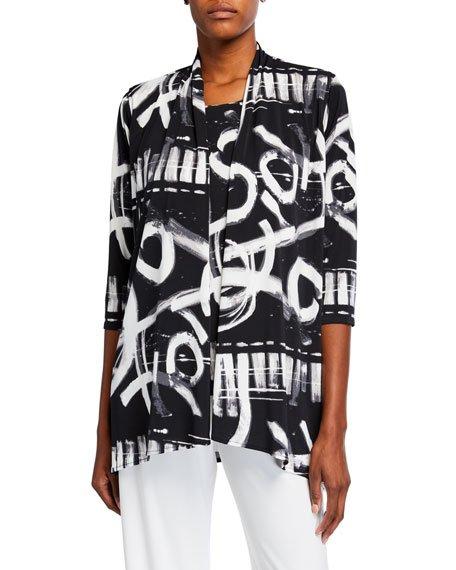 Plus Size Escapade Knit Side Fall Cardigan